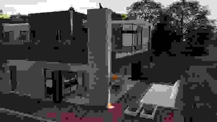 Entertainment area FRANCOIS MARAIS ARCHITECTS Minimalist house