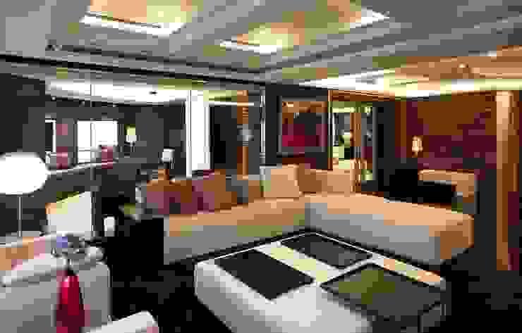 客廳 台中室內建築師|利程室內外裝飾 LICHENG Living room