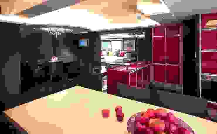 廚房與餐廳 台中室內建築師|利程室內外裝飾 LICHENG Kitchen