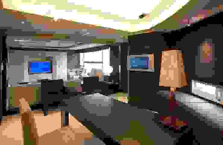 書房 台中室內建築師|利程室內外裝飾 LICHENG Classic style study/office
