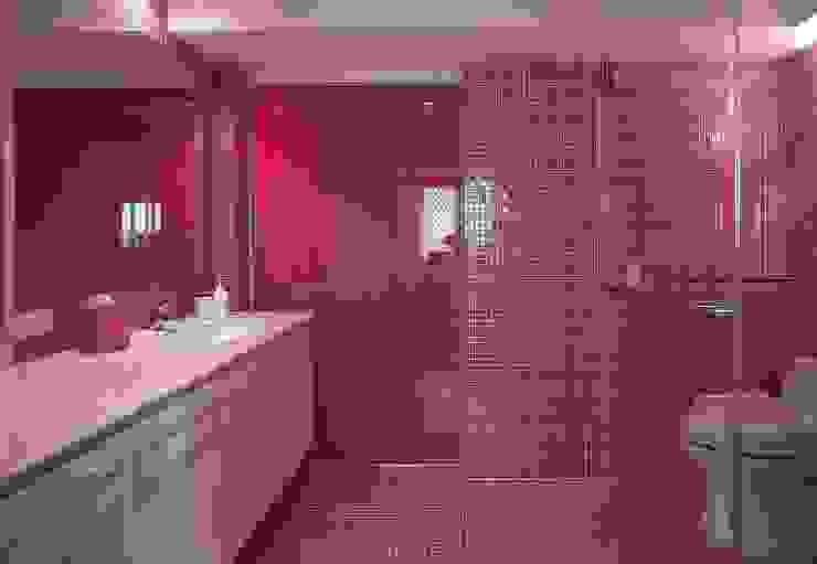 台中室內建築師|利程室內外裝飾 LICHENG Klassische Badezimmer