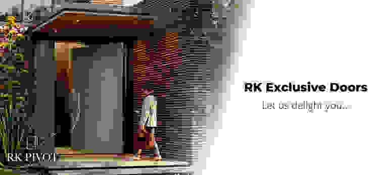 RK Exclusive Doors RK Exclusive Doors Front doors Aluminium/Zinc Amber/Gold