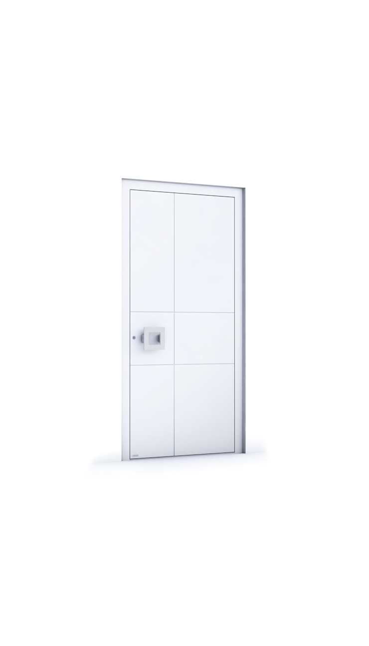 RK Exclusive Doors - Model RK 4200 RK Exclusive Doors Puertas de entrada Aluminio/Cinc Blanco