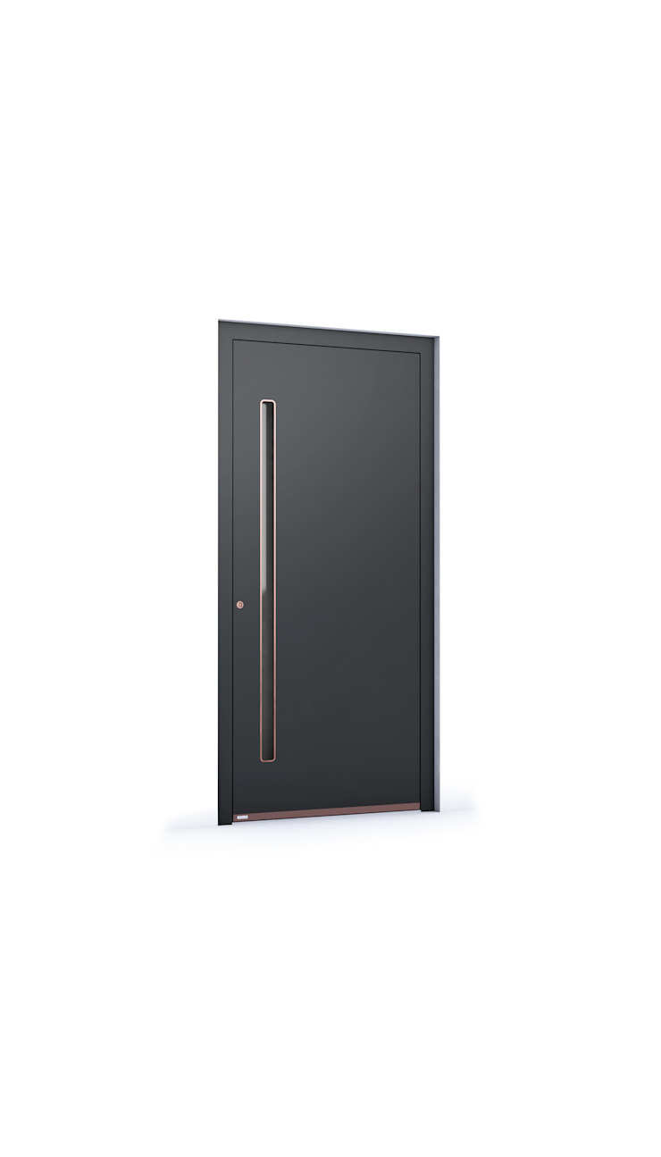 RK Exclusive Doors - Model RK 5340 RK Exclusive Doors Puertas de entrada Aluminio/Cinc Negro