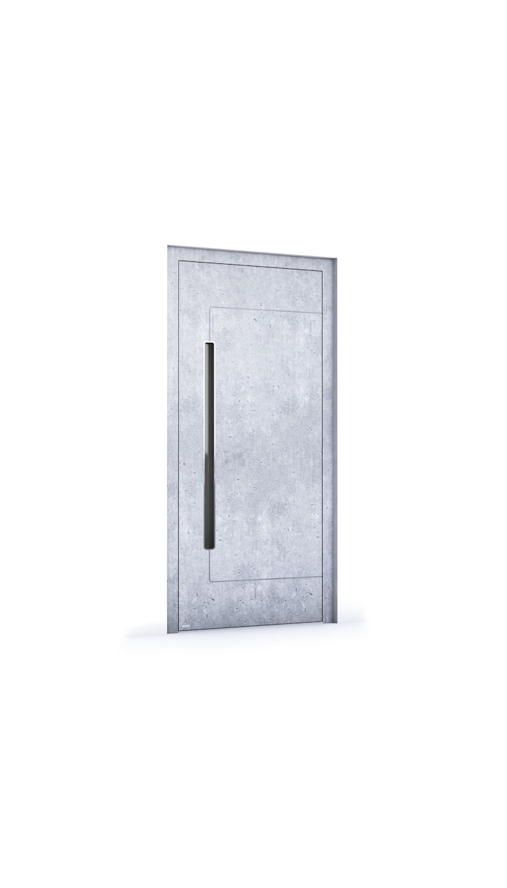 RK Exclusive Doors - Model RK 5350 RK Exclusive Doors Puertas de entrada Aluminio/Cinc Gris