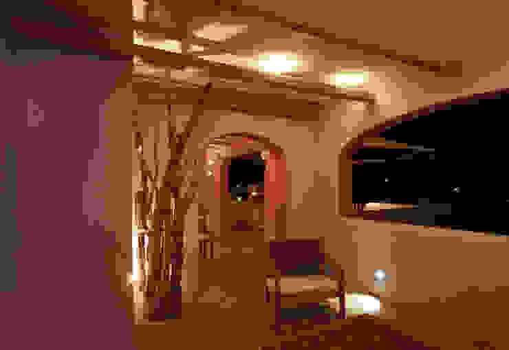 Architetto Alessandro spano Varandas, alpendres e terraços clássicos Turquesa