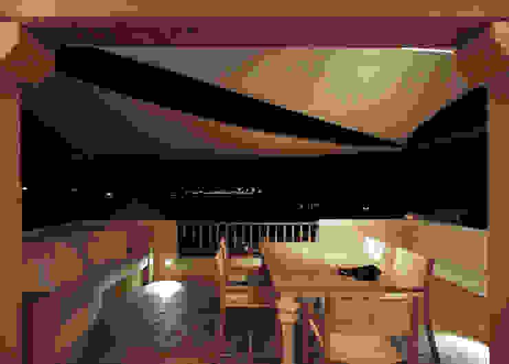 Architetto Alessandro spano Varandas, alpendres e terraços clássicos