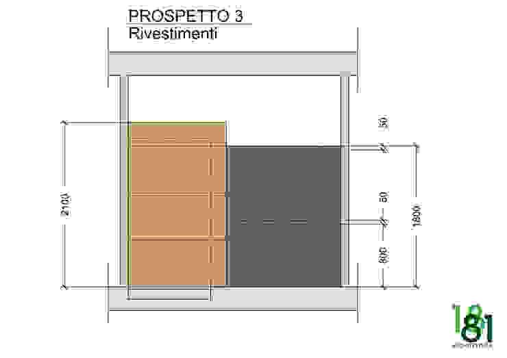 Studio compositivo dei rivestimenti Arch. Sara Pizzo - Studio 1881
