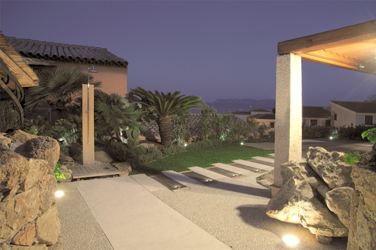 Architetto Alessandro spano Mediterraner Garten