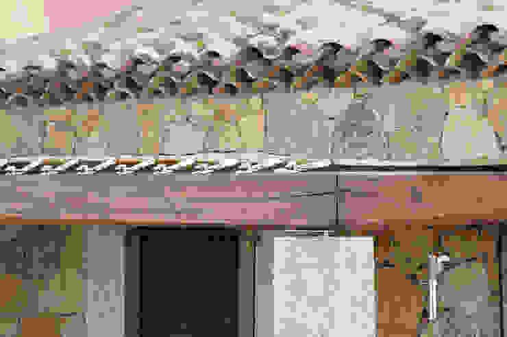 Architetto Alessandro spano Mediterranean style balcony, veranda & terrace