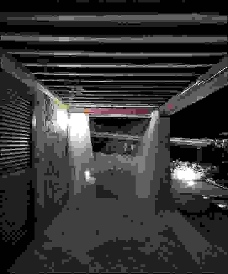 Architetto Alessandro spano Balcones y terrazas de estilo mediterráneo