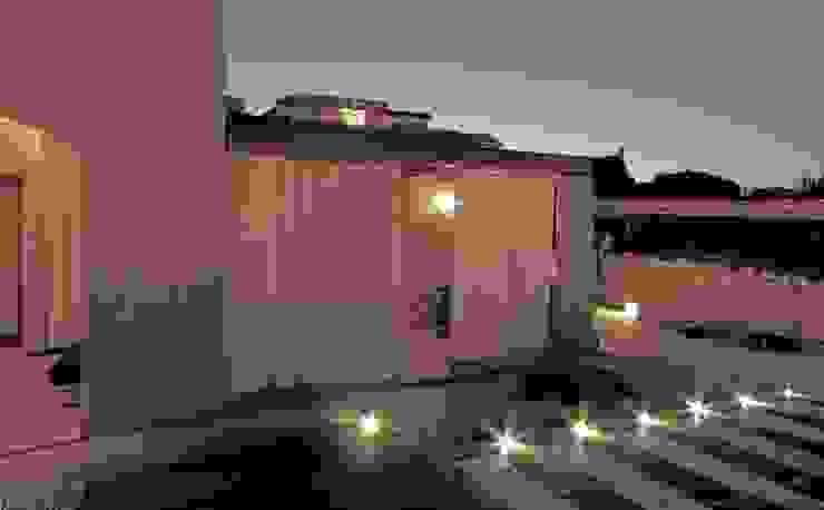 veranda Giardino in stile mediterraneo di Architetto Alessandro spano Mediterraneo