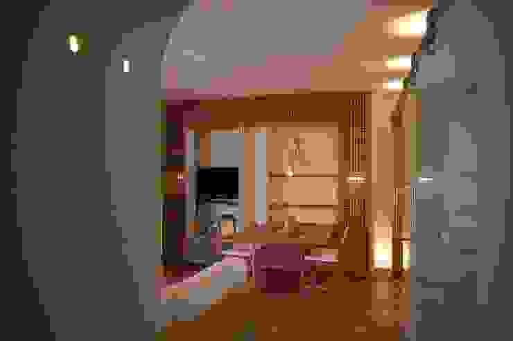 Architetto Alessandro spano Mediterrane Wohnzimmer