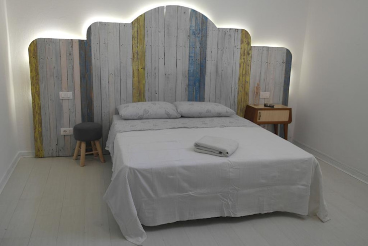 Architetto Alessandro spano Industrial style bedroom