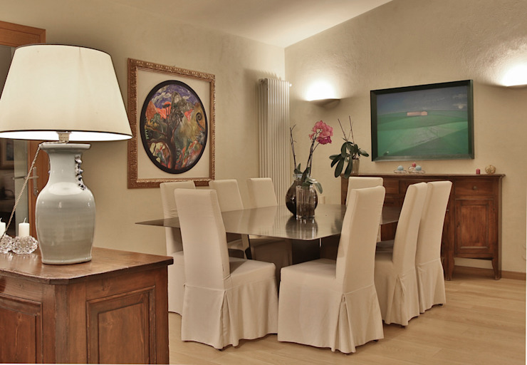 Architetto Alessandro spano Mediterranean style dining room