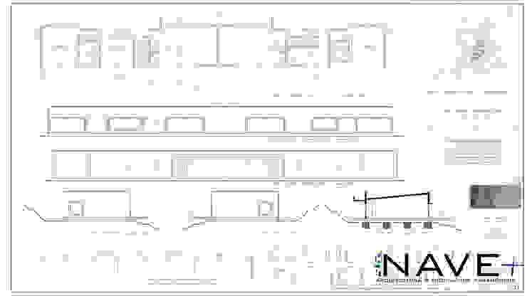 Vivienda Dúplex. CerroCristal, Curicó. de Nave + Arquitectura & Modelación Paramétrica Mediterráneo