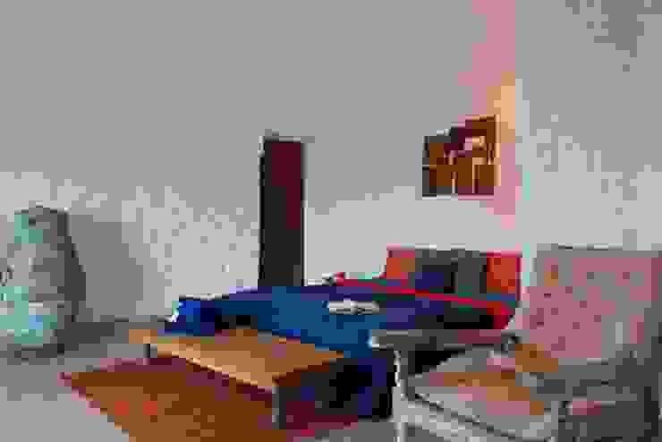bedroom lower level Mediterranean style houses by Ashleys Mediterranean Stone