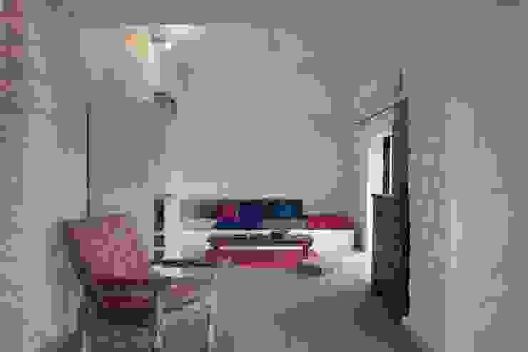 bedroom lower level by Ashleys Mediterranean
