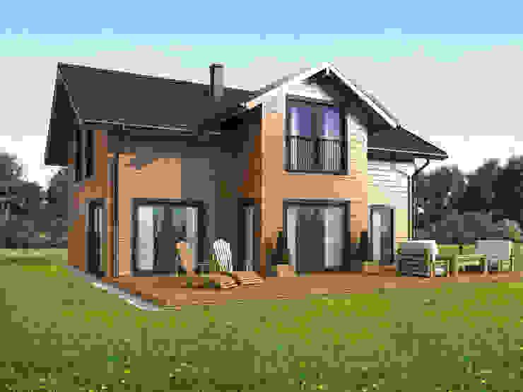 THULE Blockhaus GmbH - Ihr Fertigbausatz für ein Holzhaus Country style houses Wood Brown