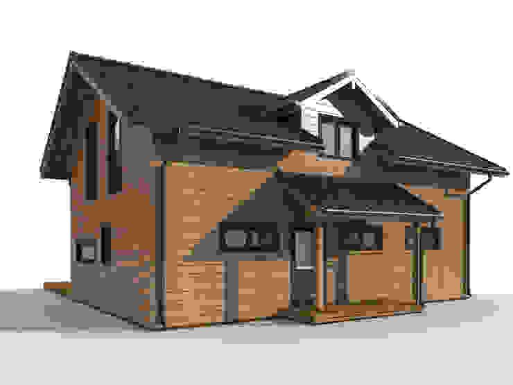 THULE Blockhaus GmbH - Ihr Fertigbausatz für ein Holzhaus 層疊式原木屋 木頭 Brown