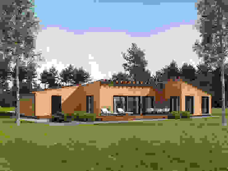 THULE Blockhaus GmbH - Ihr Fertigbausatz für ein Holzhaus 木屋 木頭 Brown