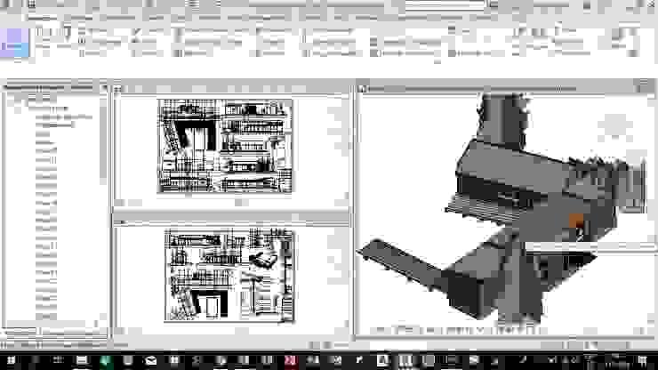 Casa Containers de Nave + Arquitectura & Modelación Paramétrica Rural