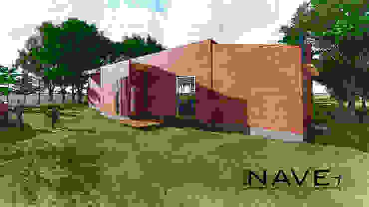 Casa Containers Casas de estilo rural de Nave + Arquitectura & Modelación Paramétrica Rural