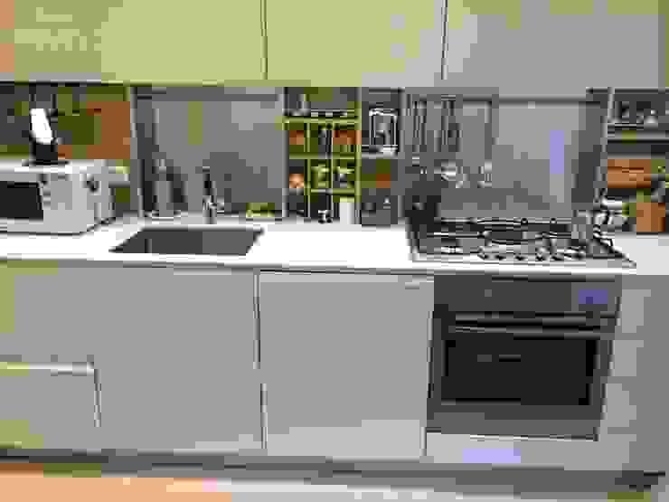 lavello sottotop DE PASCALIS MOBILI produzione cucine e arredi su misura Cucina attrezzata MDF Beige