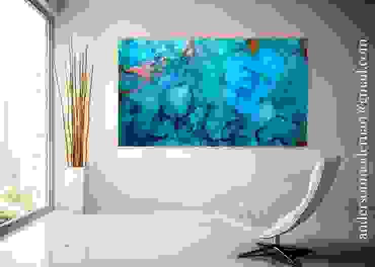 Holly Anderson Fine Art ArteImmagini & Dipinti Cotone Blu