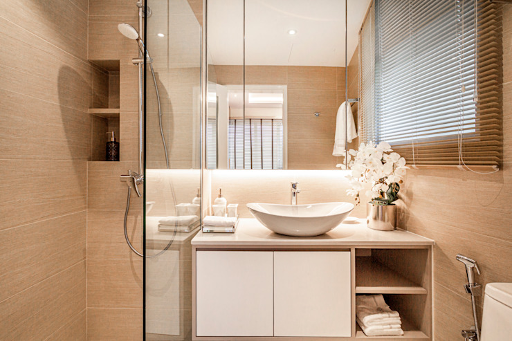 Clementi Park Modern bathroom by Mr Shopper Studio Pte Ltd Modern