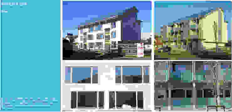 Strutture terrazzi Balcone, Veranda & Terrazza in stile moderno di C.M.E. srl Moderno