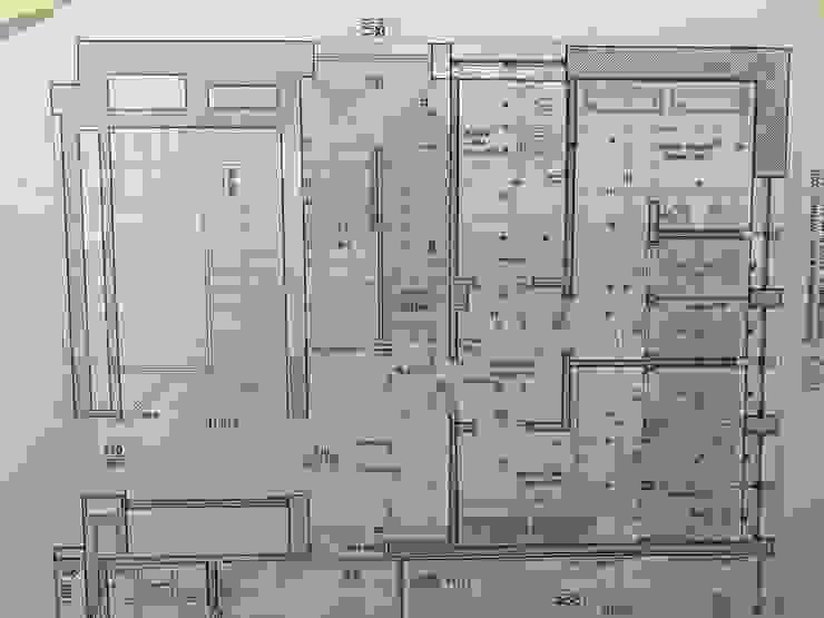 Planimetria progetto bagni di C.M.E. srl Moderno