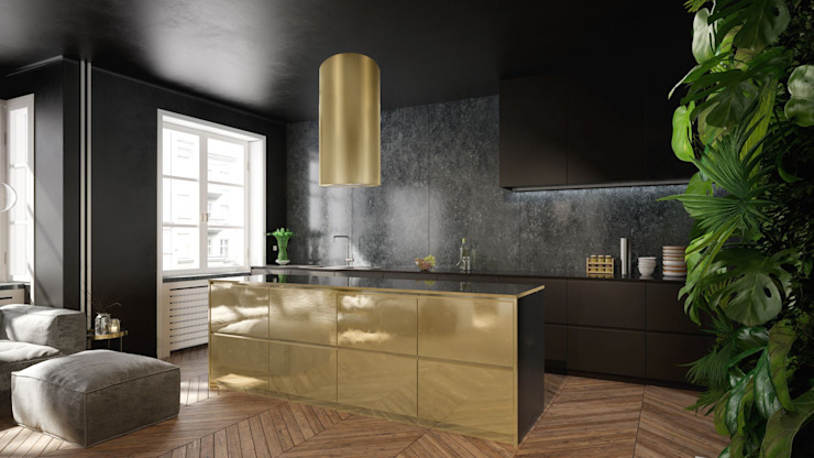 Nortberg Built-in kitchens Amber/Gold