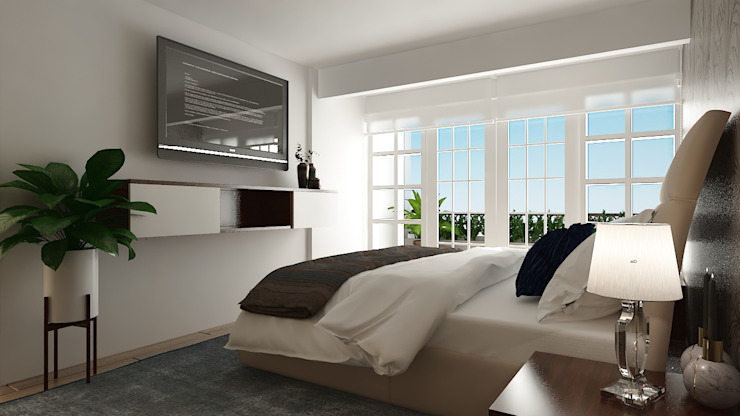 Modern Bedroom by Soma & Croma Modern