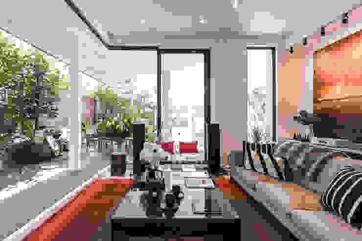 Holland Road Mr Shopper Studio Pte Ltd Modern living room