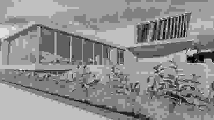 CASA SARA de ConstruTech & Technology BIM Minimalista Concreto reforzado
