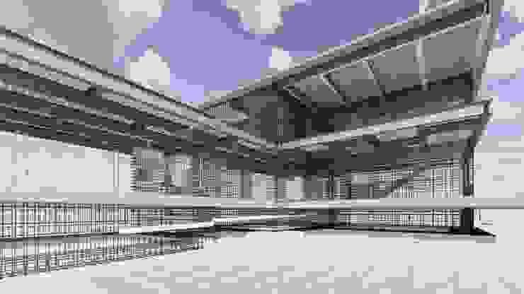 CASA SARA de ConstruTech & Technology BIM Moderno Concreto