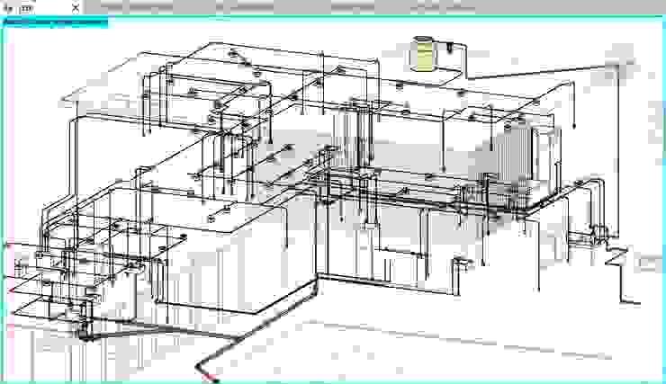 CASA SARA de ConstruTech & Technology BIM Minimalista Concreto