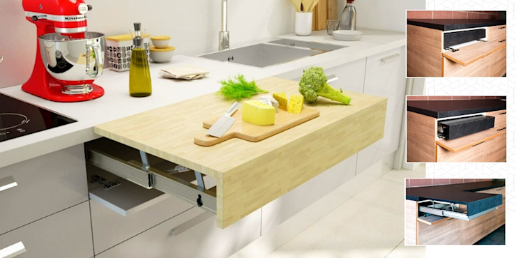 Atim Spa KitchenBench tops Aluminium/Zinc