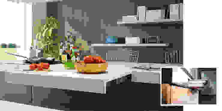 SANDWICH Atim Spa CucinaPiani di lavoro Alluminio / Zinco