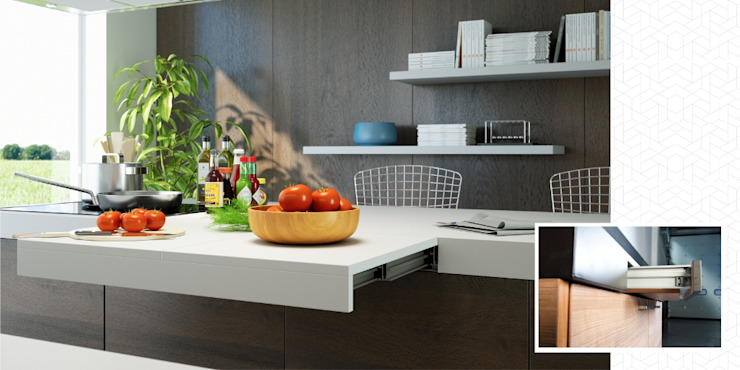 Atim Spa CocinaMesadas de cocina Aluminio/Cinc