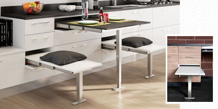 Atim Spa KitchenTables & chairs Aluminium/Zinc