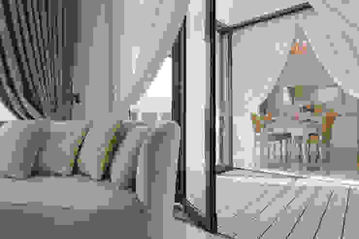 RiverSail Penthouse Mr Shopper Studio Pte Ltd Balcony