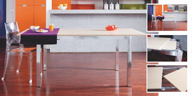 Atim Spa Dining roomTables Aluminium/Zinc