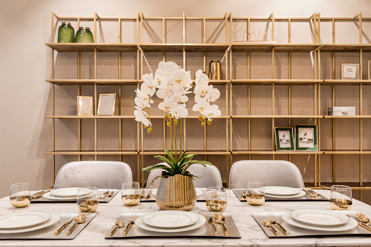 Principal Garden Modern dining room by Mr Shopper Studio Pte Ltd Modern