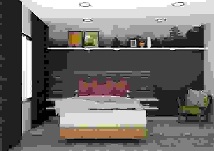 Modern family home by Designs by Meraki