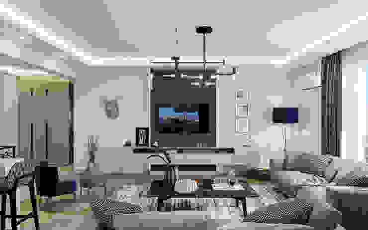 Çalık Konsept Mimarlık – Oturma Odası: modern tarz , Modern