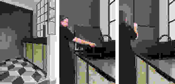Di Origine Progettuale DOParchitetti KücheSchränke und Regale Holzwerkstoff Mehrfarbig