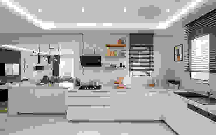Çalık Konsept Mimarlık – Mutfak: modern tarz , Modern