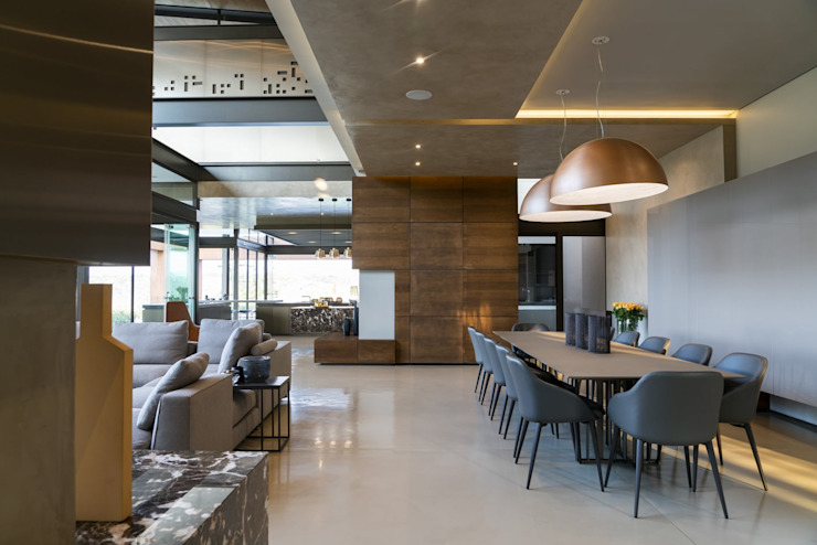 Mooikloof Heights Nico Van Der Meulen Architects Modern dining room